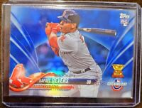 2018 Topps Opening Day Rafael Devers Blue Foil Rookie Card - #2 - Boston Red Sox
