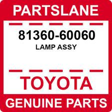 81360-60060 Toyota OEM Genuine LAMP ASSY