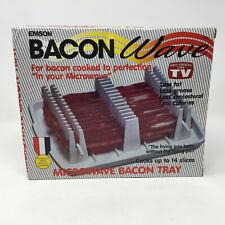 Emson As Seen On TV Bacon Wave Microwave Bacon Tray NIB