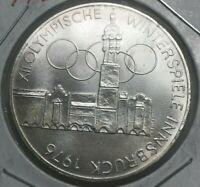 1976 Austria 100 Schilling - Innsbruck Olympics