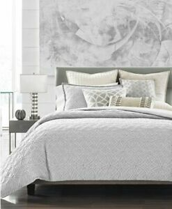 NWT Hotel Collection Connections Full/Queen Duvet Cover+two Standard Pillowcases