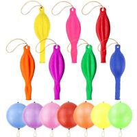 35 Color Punching Balloons Punch Balls w/ Rubber Band Handle Toys Decorations