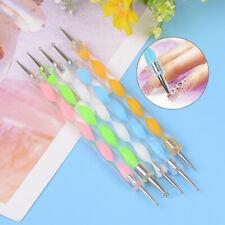 5pcs nail art brosse peinture ligne stylo cristal sFRass acrylique manucure WFFR