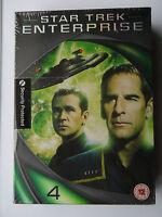 STAR TREK ENTERPRISE SEASON 4 COMPLETE 6 DISC DVD BOX SET NEW SEALED BLALOCK BAK