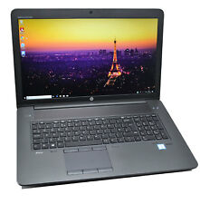 Laptop HP Zbook 17 G3 CAD: Core i7, Quadro, 32GB Ram, 256GB+HDD, garantía global