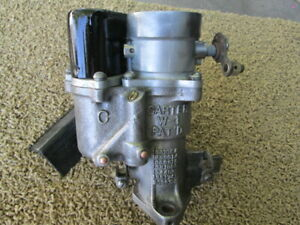 VINTAGE CHEVY CARTER W-1 CARBURETOR, 1937-49 CHEVY SINGLE BARREL CARB.