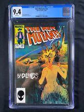 New Mutants #20 CGC 9.4 (1984)