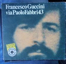 Francesco Guccini: VIA PAOLO FABBRI 43 CD 1976 digipack edizione limitata 1996