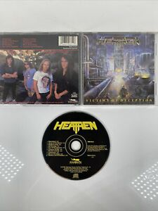 Heathen - Victims of Deception  (CD, Apr-1991, Roadrunner Records) METAL