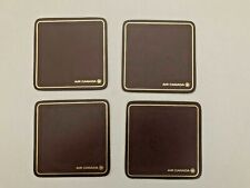 AIR  CANADA business class vintage coasters set of four