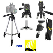 "50"" PHOTO TRIPOD WITH QUICK RELEASE FOR NIKON D3400 D5600 FAST FREE SHIPPING"