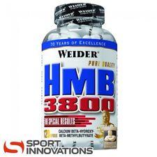 (20,71€/100g) Weider Hmb 3800 120 Kapseln + Shaker & Probe