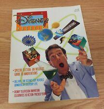 Vintage Fall 1994 The Disney Magazine - Bill Nye The Science Guy Wonders