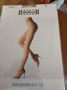 Wolford Transparency 10 Tights, Small, Cosmetic