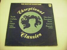 EKSEPTION - EKSEPTIONAL CLASSICS THE BEST OF - LP VINYL 1975 ITALY PRESS