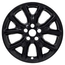 JEEP CHEROKEE SUV 2014 - 2017 GLOSS BLACK WHEEL OVERLAY INSERTS