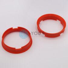 2 x Centering Ring Distance Alloy Wheels Z11D 72,6 - 67,1 mm Brock, Keskin - NEW