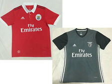 New Benfica home red soccer jerseys away gray thai quality football shirts tops