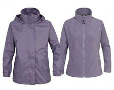 Trespass Nana Ladies Waterproof Windproof 3in1 Jacket & Detachable Fleece size S