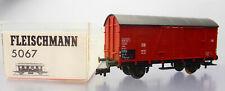 Fleischmann (5067) ; Gedeckter Güterwagen Gr20 DB,  in OVP /L379
