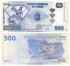 Congo 500 Francs 2002  P-96 Banknotes UNC