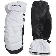 Men's Rossignol Puff Primaloft Mittens Insulated Gloves White Black Size XL