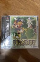 PLAYSTATION 1 - PINOBEE Game COMPLETE New FACTORY SEALED PS1 Mint!