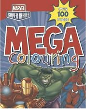 Marvel Super Heroes Mega Colouring by Parragon (Paperback) ##2-B-34