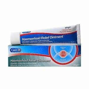 Care Haemorrhoid / Pile Relief Ointment Cream - 25g - Pain Relief/Aids Healing