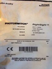 New Allen Bradley Photoswitch Sensor- 42EF-P2MPB-A12 - RightSight Photo Eye