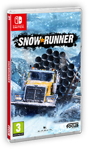 Snowrunner Offroad Driving Nintendo SWITCH BRAND NEW SEALED