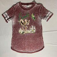 Disney Bambi T-Shirt Junior Size Small