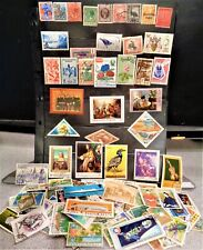 HUGE WORLDWIDE STAMP LOT 500+ (used - off paper)