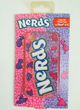 NIP - iPHONE 4 / 4s NERDS Snap On Phone Case with Soft-Touch Finish, Purple Pink