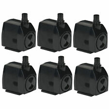 Little Giant 300 GPH 23W Magnetic Drive Submersible Fountain Pond Pump (6 Pack)