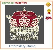 2019 Liechtenstein - 300 Years of Liechtenstein - Embroidery Stamp MNH UNUSUAL