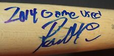 REESE MCGUIRE PITTSBURGH PIRATES SIGNED AUTO OLD HICKORY GAME USED BAT W/COA G
