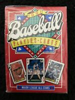 1991 Baseball Major League All-Stars United States Playing Cards Co. Deck