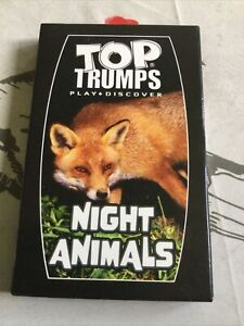 Aa McDonalds Top Trumps Card Game Night Animals NEW