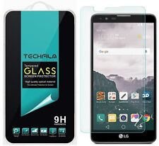 TechFilm® Tempered Glass Screen Protector Saver For LG Stylo 2 Plus (MS550)