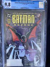 Batman Beyond Special Origin Issue #1 #nn CGC 9.8 First App Terry McGinnis