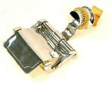 Brass + Silver Toilet Paper Holder Tissue Bathroom Accessories Wall Mount