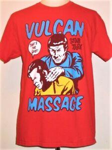 Vulcan Massage STAR TREK Kirk and Spock T-shirt