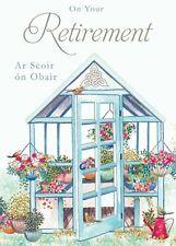 Irish Retirement Card - Glasshouse