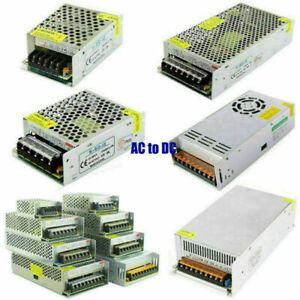 AC110-240V TO DC12V 5A/30A/40A/50A/58A/83A Transformer Regulated Power Supply UK