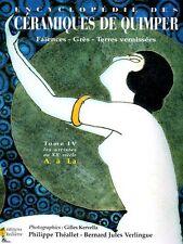 Encyclopedia of Quimper ceramics France Vol. 4