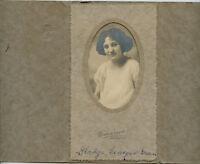 Antique Photo-Gladys GREEN-Newport Vermont Lady-Richardson Photographer