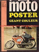 LA MOTO  9 LAVERDA 750 SF ; NORTON INTER ; DERBI ; Le Castellet Magny Cours 1971