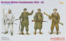 KIT DRAGON 1:35 GERMAN 4 SOLDATI WINTER COMBATANS 1943-45 DA COLORARE  6705