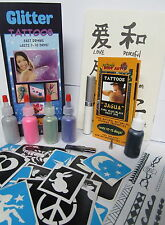 Jagua Tattoo Gel and Glitter Kit - Made in USA